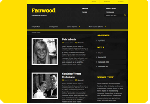 Theme Fanwood - responsives Design von devPress